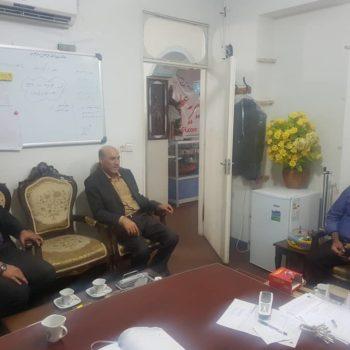 بازدید فرماندار نیریز از مجموعه عطر یاس نبوی