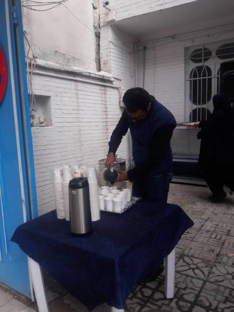 برپایی ایستگاه صلواتی در روزرهای پایانی ماه صفر