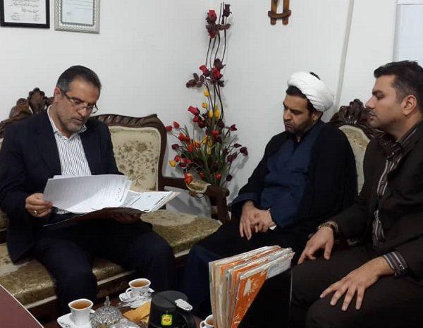بازدید مسئول بسیج سازندگی سپاه فجر استان فارس