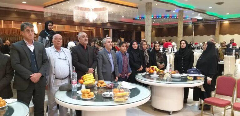 جشن تولد یکصد فرشته آسمانی با حضور مسئولین استان